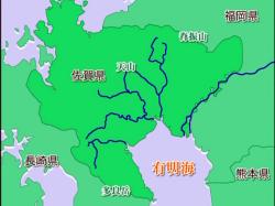 有明海河川地図